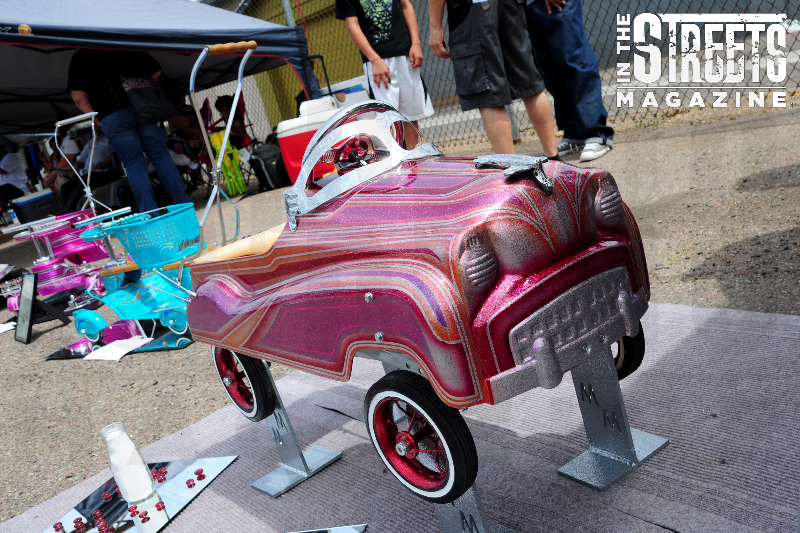 little lowrider show in the streets magazine. Black Bedroom Furniture Sets. Home Design Ideas